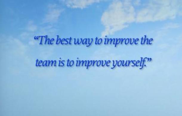 The best ways to improve?