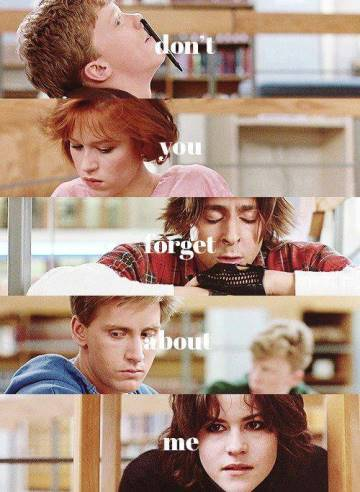 30 years ago today, The Breakfast Club was released in theaters. #80s Don't, don't, don't, don't you forget about me http://t.co/aORLZxbHM6