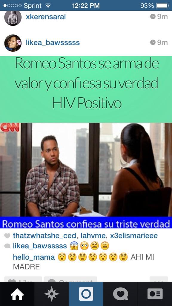 Romeo Santos Snapchat