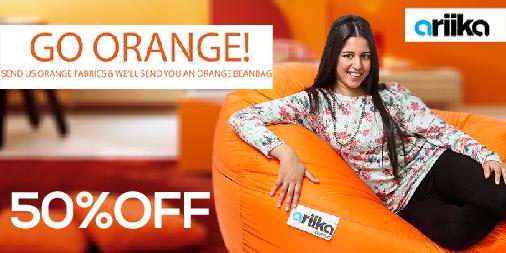 Go orange! Send us your orange fabrics. http://t.co/d2Bj82ax1G  #Ariika #BeanBags #Comfort #Quality http://t.co/ncBR6gHQ8W