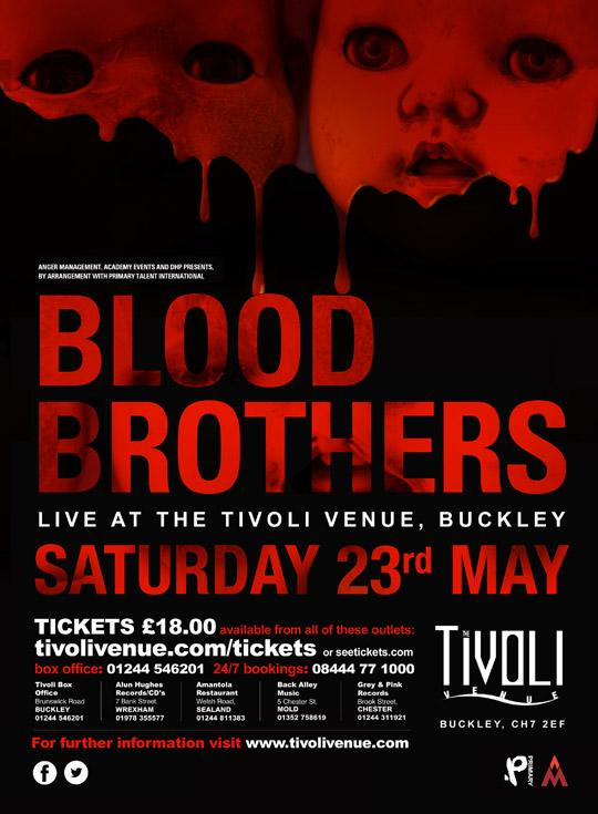 Blood Brothers @ Tivoli, Buckley