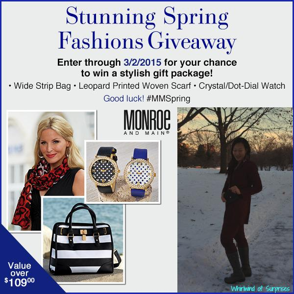 Monroe and Main fashion sweepstakes