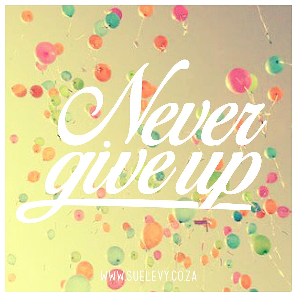 Women, we need to encourage one another to: Never Give Up. #TeamBossyGals http://t.co/HJp5q0wtGk