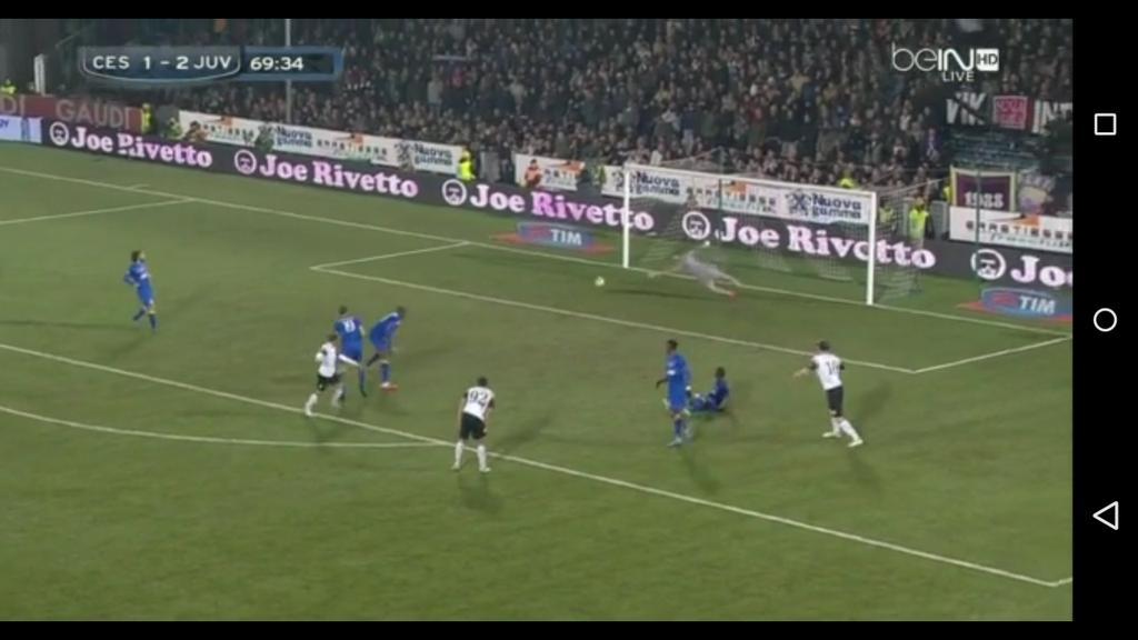 Cesena-JUVENTUS Risultato DIRETTA live Video Gol in tempo reale