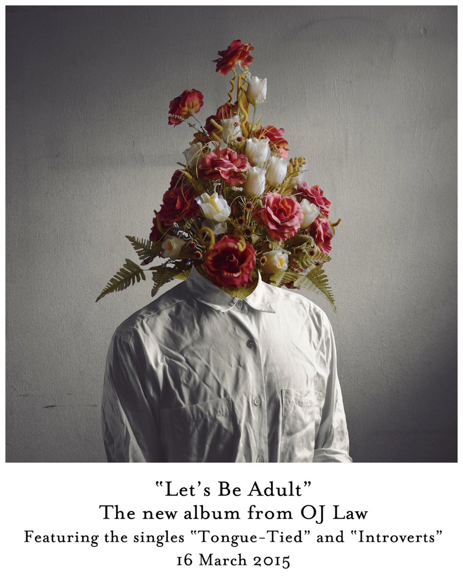 Let's Be Adult. The new album. 16 March 2015. http://t.co/Js39hw6rm2