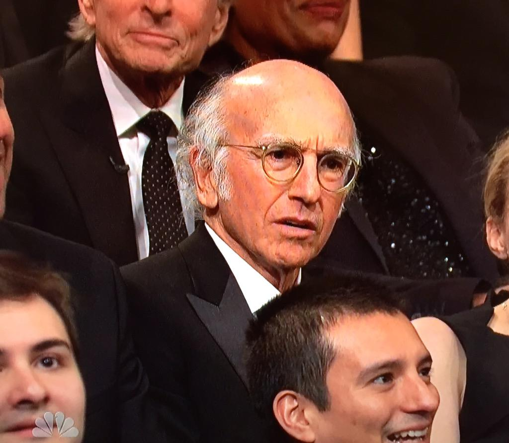 """@TODAYshow: Larry David is not going to the after-party. #SNL40 http://t.co/7lqqB5pjte"""