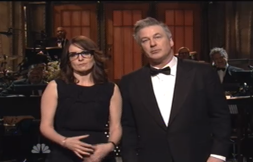 """@BuzzFeeders: Alec and Tina talking about their love for Tracy Morgan<3 #SNL40 http://t.co/vzmZ1SmAuH"""