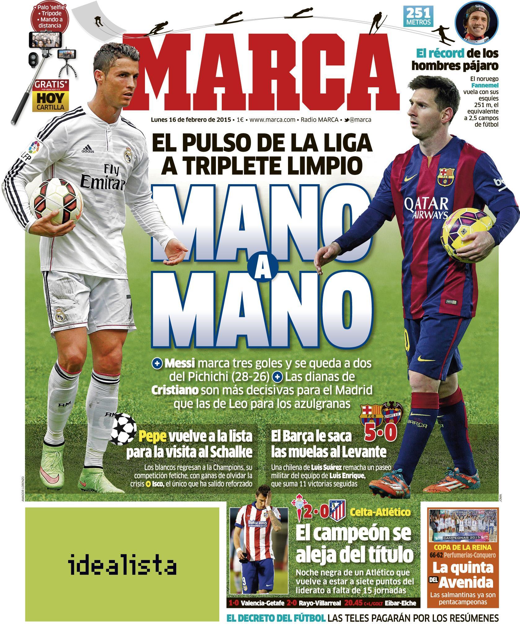 Deportes - Magazine cover