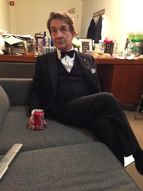 Martin Short doing Coke before the SNL 40th. http://t.co/GvSCzektZU