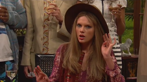 Let's be honest: Taylor Swift three years ago would wear this outfit #SNL40 http://t.co/DYavV0j73w