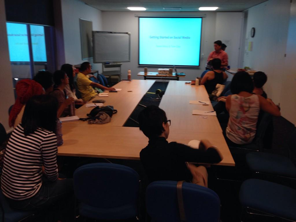 Thumbnail for AASRN - Getting started on social media workshop