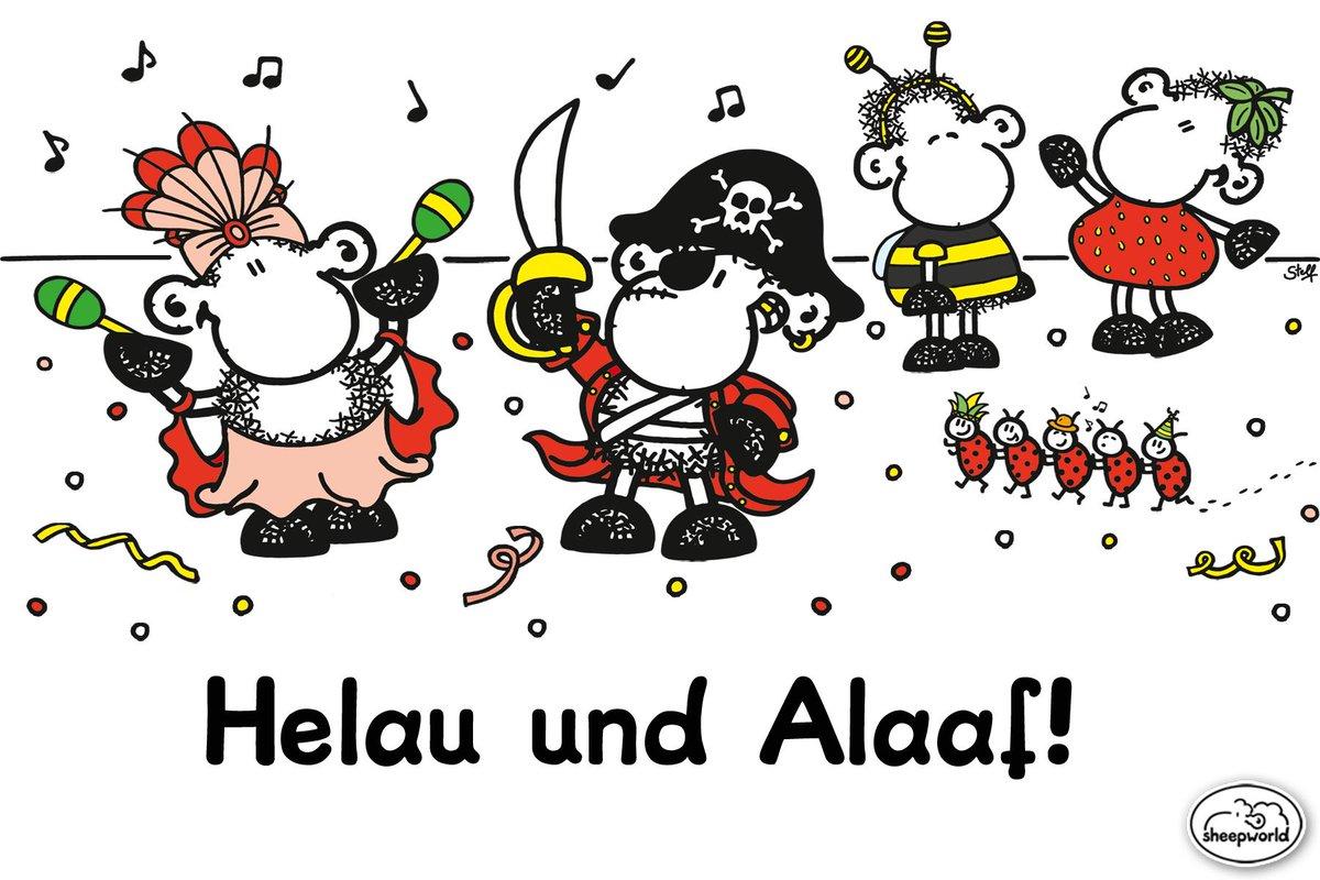 Sheepworld På Twitter Guten Morgen Am Rosenmontag Helau