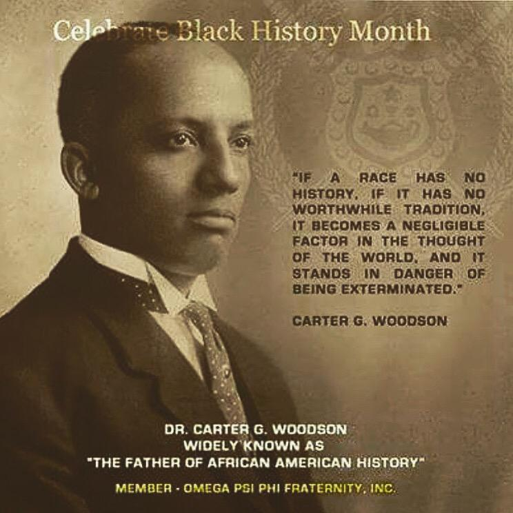Ed Bruhz On Twitter In 1926 Bro Carter G Woodson Created