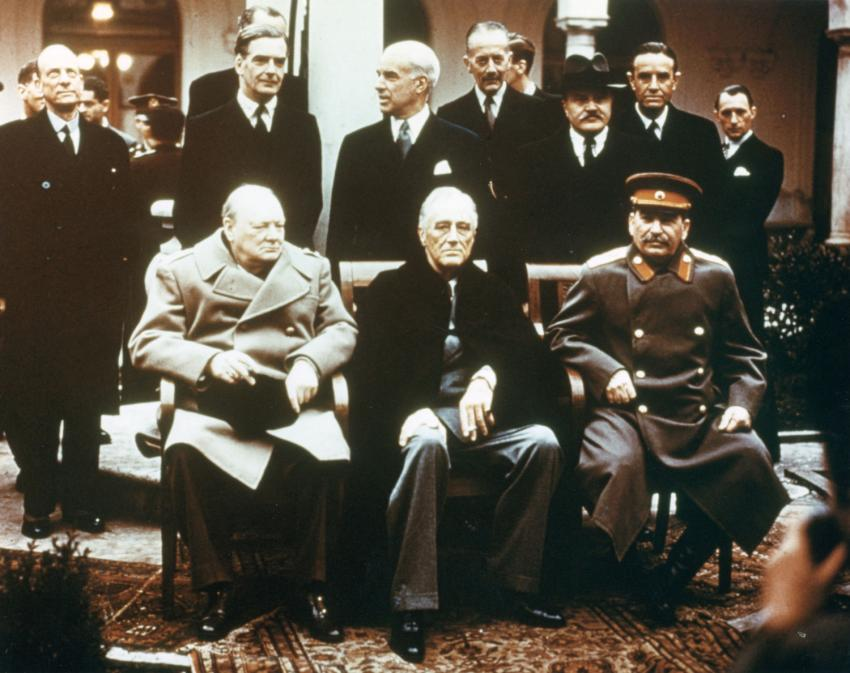 The Spy Museum On Twitter Today In Spy History Yalta Conference