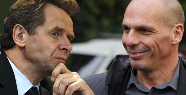 Μυστική συνάντηση με τον Τόμσεν είχε (μετά τα όχι στην τρόικα) ο Βαρουφάκης στο Παρίσι...