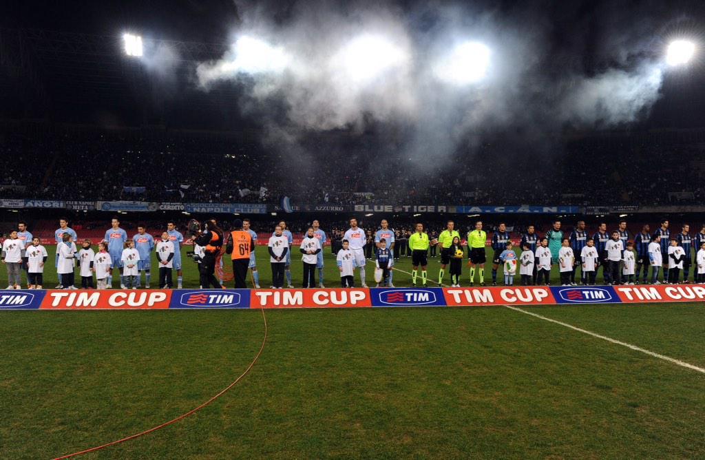 Coppa Italia: NAPOLI-INTER, diretta tv streaming su Rai 1