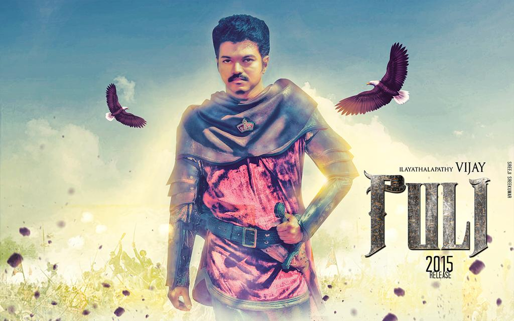 Puli Movie Fan Made Poster