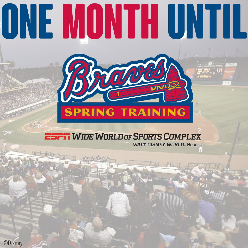 Who's looking forward to @Braves Spring Training to begin at #ESPNWWOS? http://t.co/RkwDDS0KRL