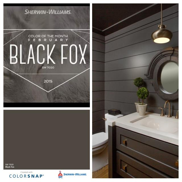 Southern Painting Dallas On Twitter Sherwinwilliams February Color Of The Month Black Fox Sw7020 Is A Sophisticated Elegant Hue With Character Paint
