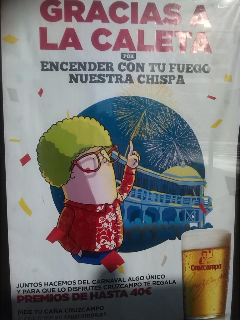 Sabéis que los ilustradores de la campaña de @Cruzcampo 2015 para #carnaval son #gaditanos?: @thepilotdog #orgullo http://t.co/RAGIvFNwzU