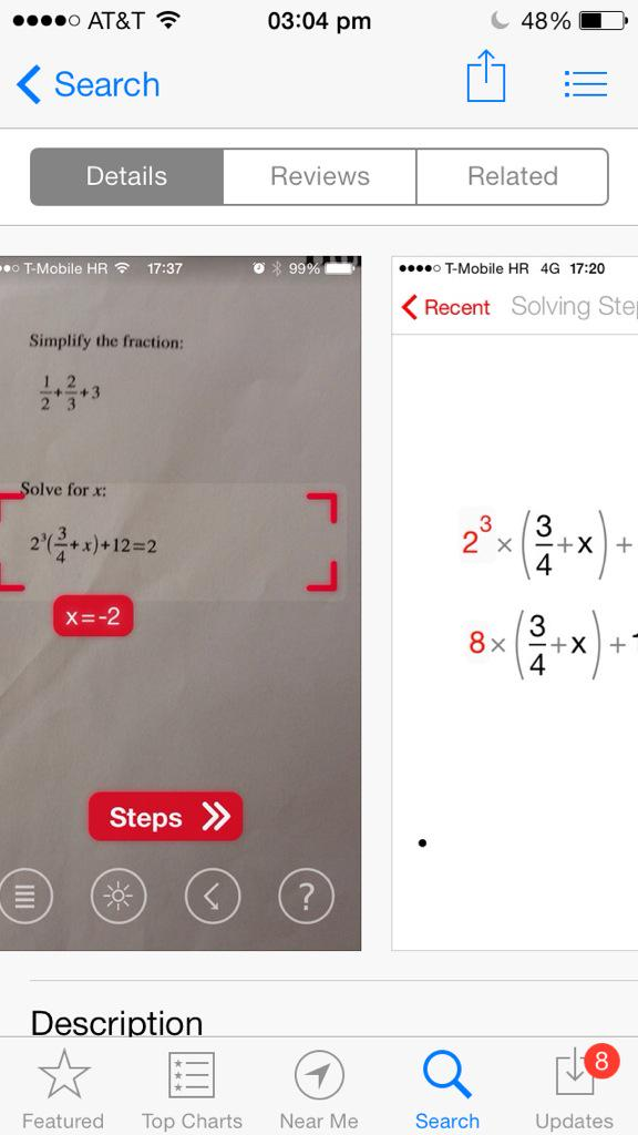 show steps to solve math problems