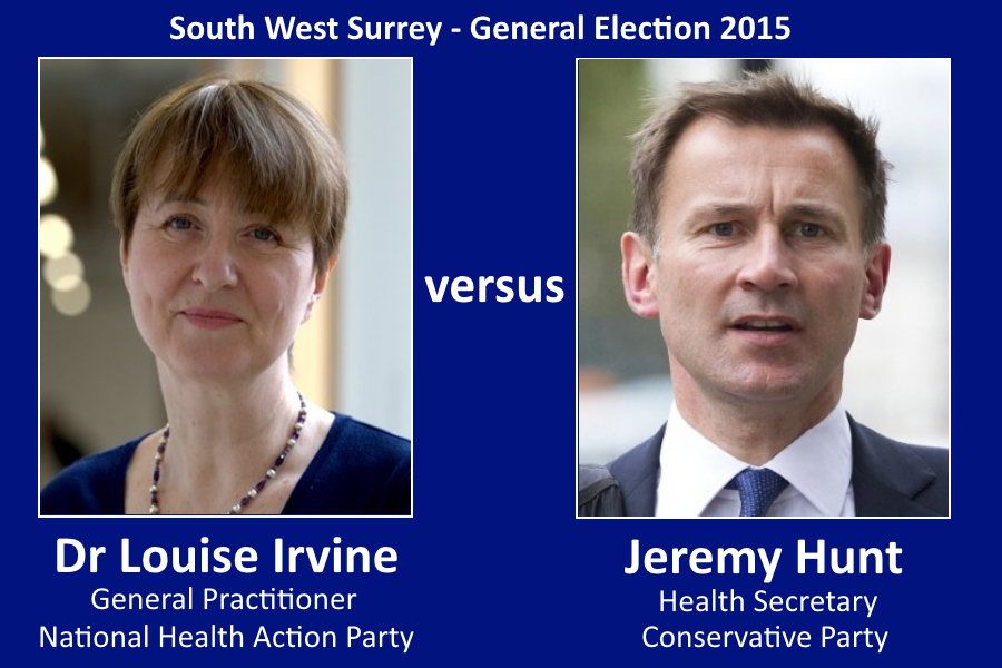 RT @keepnhspublic: Lucky voters in SW Surrey - they can vote for NHS w @drmarielouise as their candidate http://t.co/EN2Mx59xD1 #BringBackt…