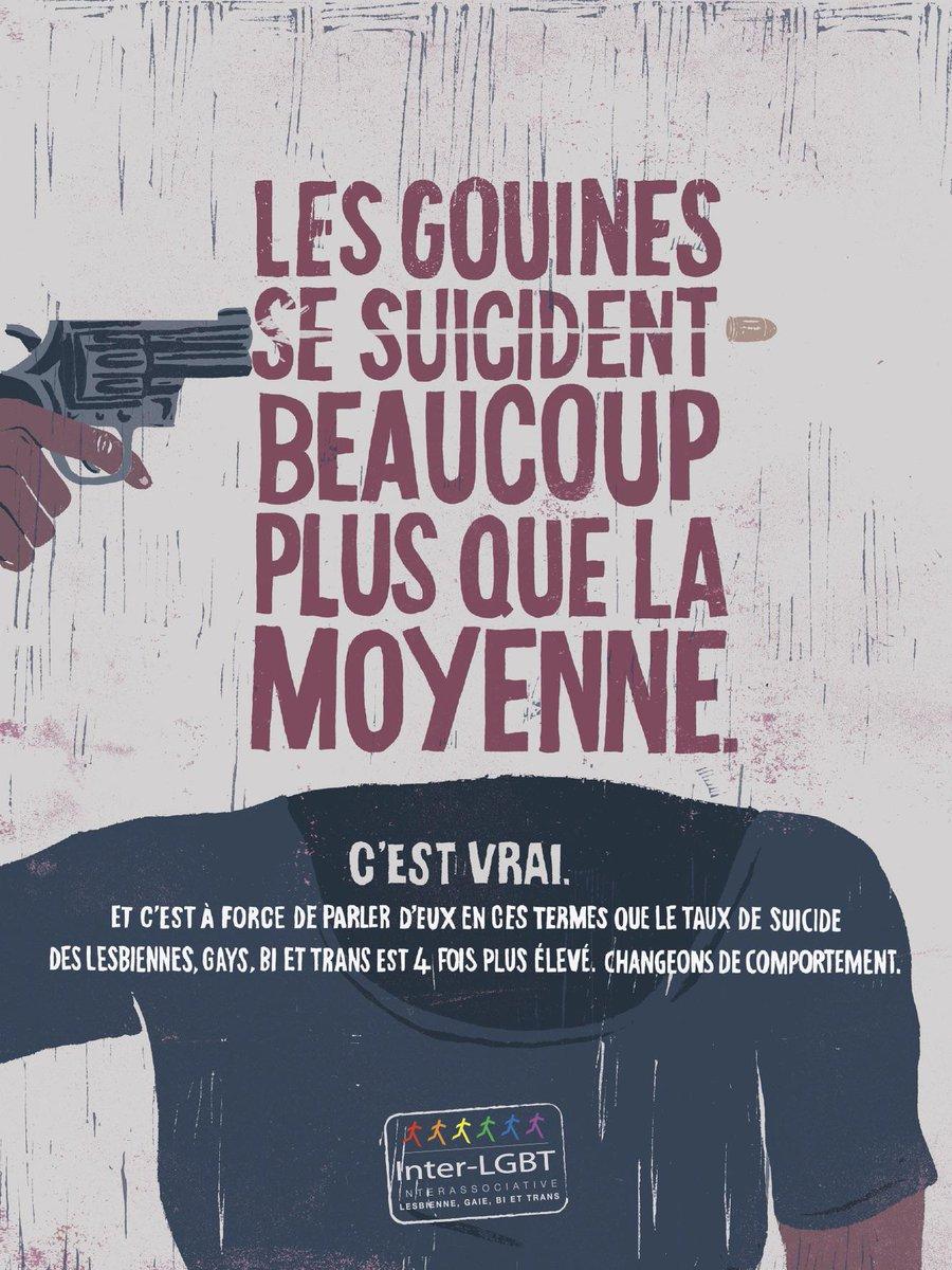 Nouvelles publicités choc l'@InterLGBT (par @TBWA_PARIS) http://t.co/ZYqYdUj1e0