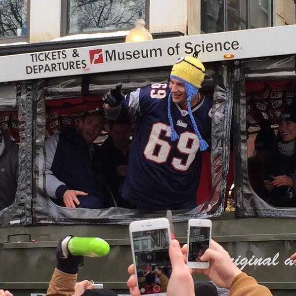 Rob Gronkowski Thread: Patiently Awaiting More Gronkings