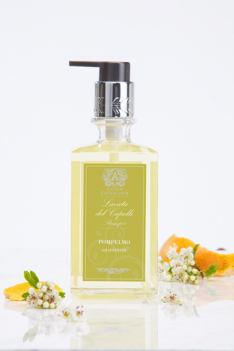 We love our Antica #amenities! RT (+ follow @anticagirl & @innatthemarket) to #ETW Grapefruit Shampoo #giveaway http://t.co/h7Y1ZQWoFH