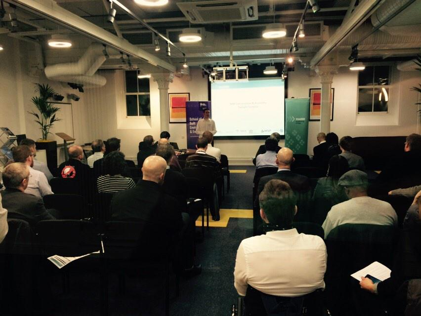 Great start to the evening, first up Andrew Brook of RIBA Enterprises #tbim2015 http://t.co/xt7QUHT4Qi