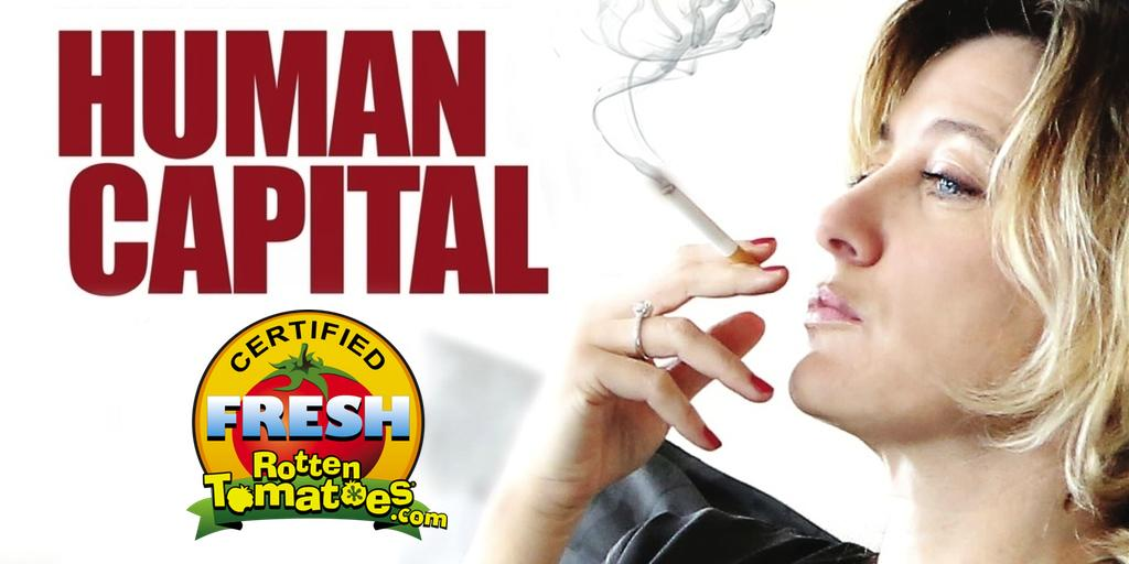 Thrilled #HumanCapital is now Certified Fresh at 80% from @RottenTomatoes! See it in theaters: http://t.co/jZJWV42qgZ http://t.co/yIcJwgE7Jf
