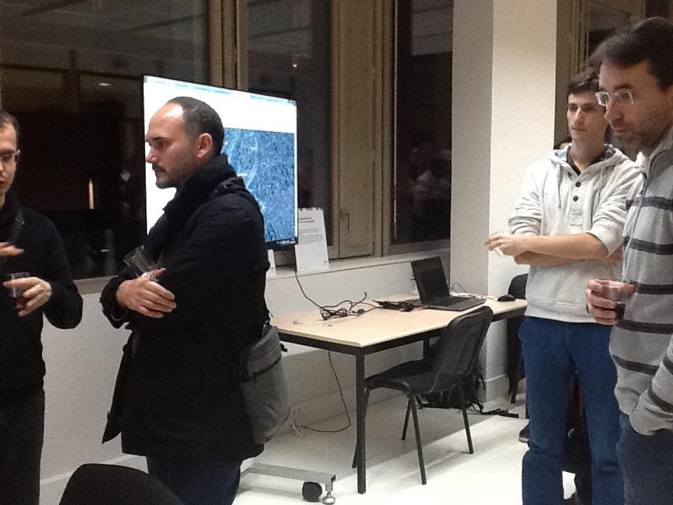 #ApéroAFIGEO #IGNfab Démonstrations expertises @IGNFrance #Géoportail visu3D #MaFranceHistorisque http://t.co/8owuDHVAom
