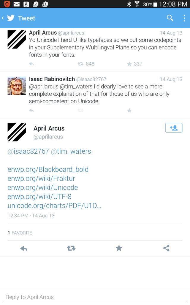 April Arcus on Twitter: