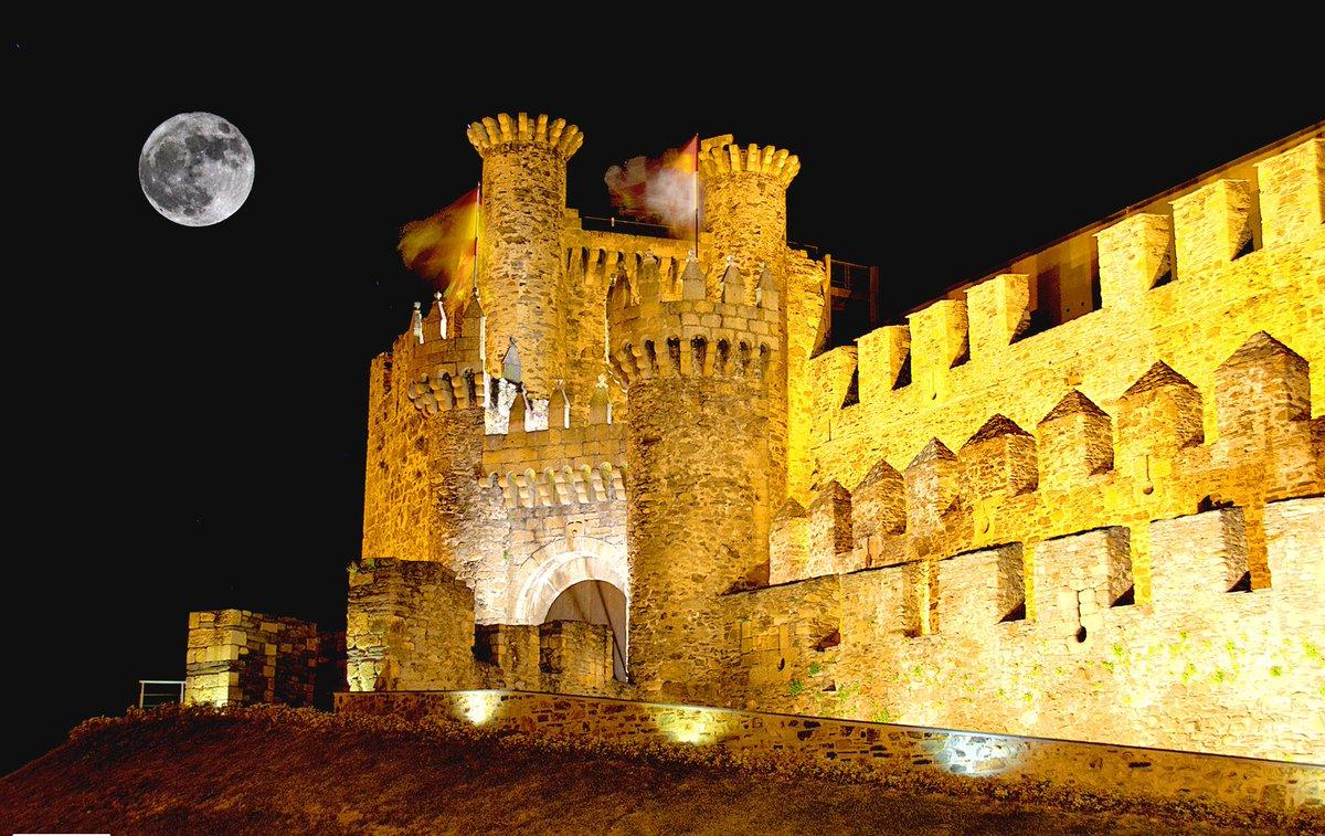 spain on twitter the castle of the templar knights of ponferrada httptcom5xaqajnze spain elbierzo len visitspain httptcocdtaporloz