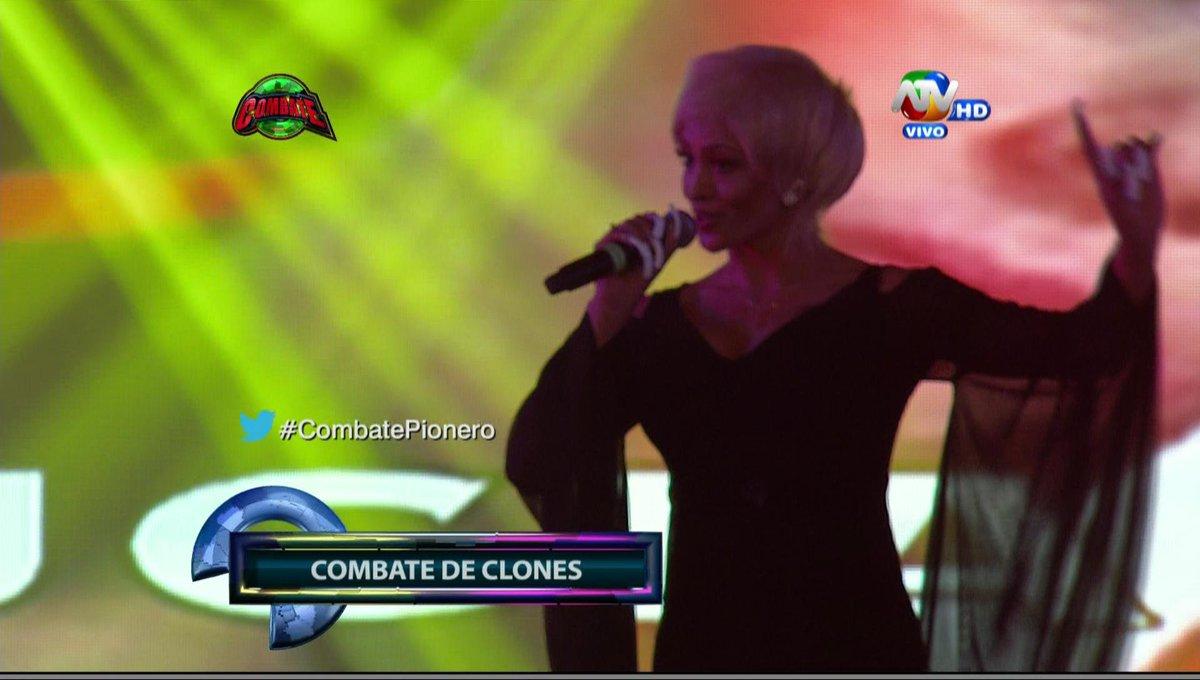 ¡.@MicheilleSoifer es Lucía de la Cruz! #CombatePionero .@Combate_ATV @atvpe http://t.co/dmz1j7gFal