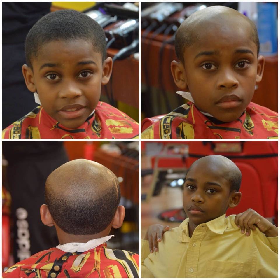 Wsb Tv On Twitter Local Barbershop Gives Kids Old Man Haircuts