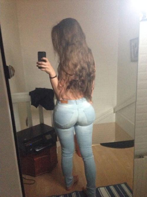 Public latina ass