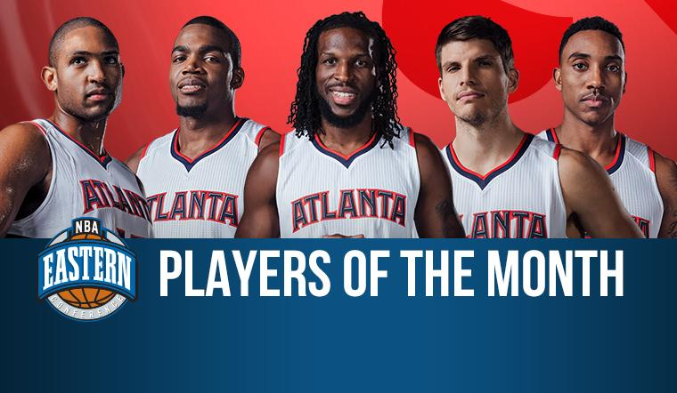 Hawks starting lineup wins NBA Eastern Conference 'Player' of the Month