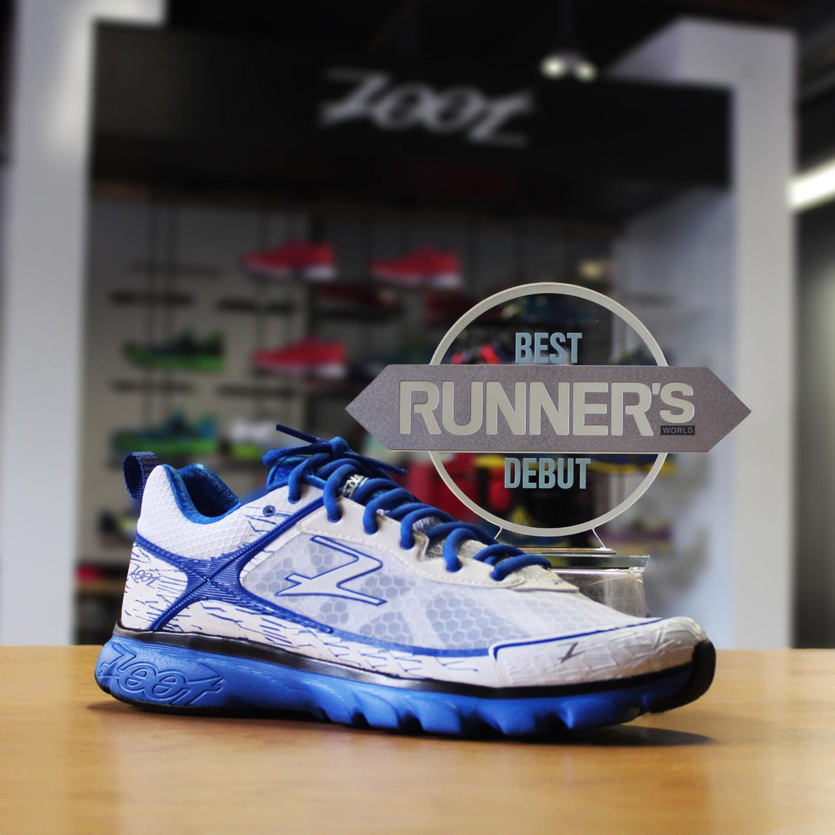 You only have one chance to make a first impression. Solana - Best Debut. Thanks for the introduction @runnersworld http://t.co/6bp9NB0MVS