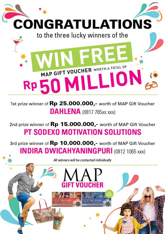 Map Gift Voucher On Twitter And Here They Are The Three Very