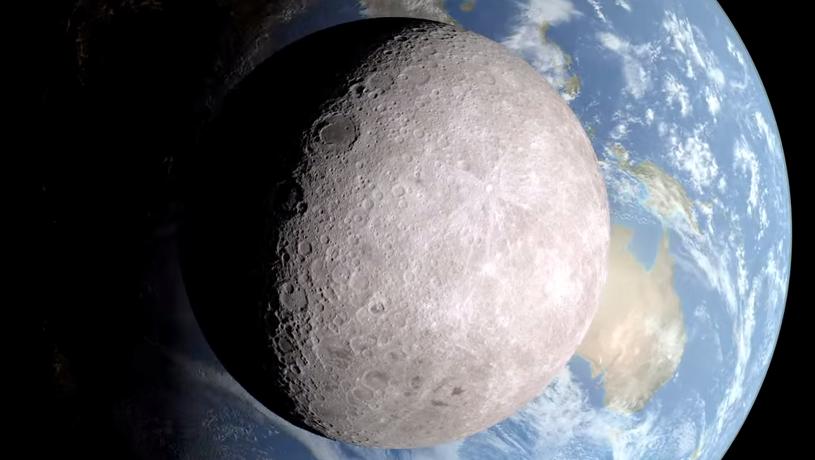 VIDEO NASA mostra le immagini del lato oscuro della Luna