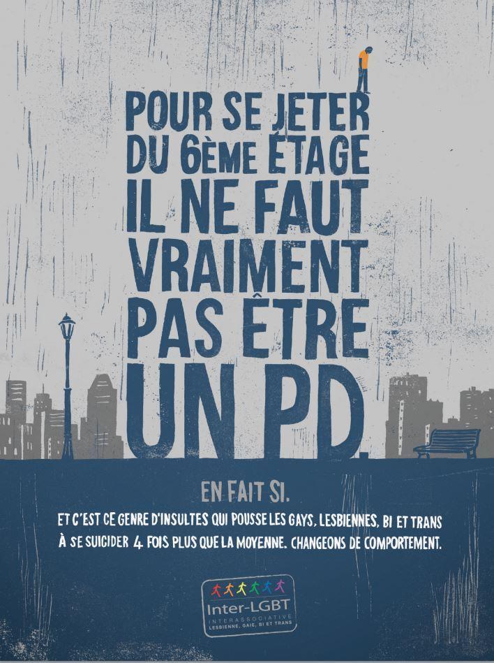 .#PleaseRT : Nouvelle campagne choc pour l'association @InterLGBT signée @TBWA_PARIS :  http://t.co/kUiVA5Jn45 http://t.co/r8kkjHv5FS