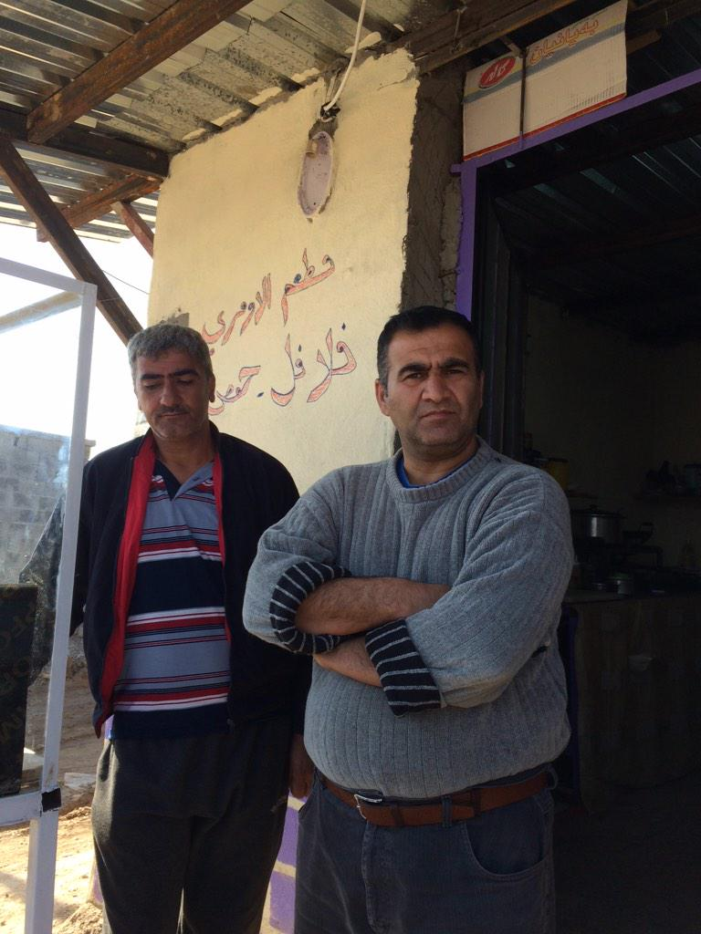 Kathim a chef & #Arbat camp councilman walked from #Qamishli #Syria to #iraq for safety. Has been in camp for 4 Mths http://t.co/aZQ4Fn5S2X