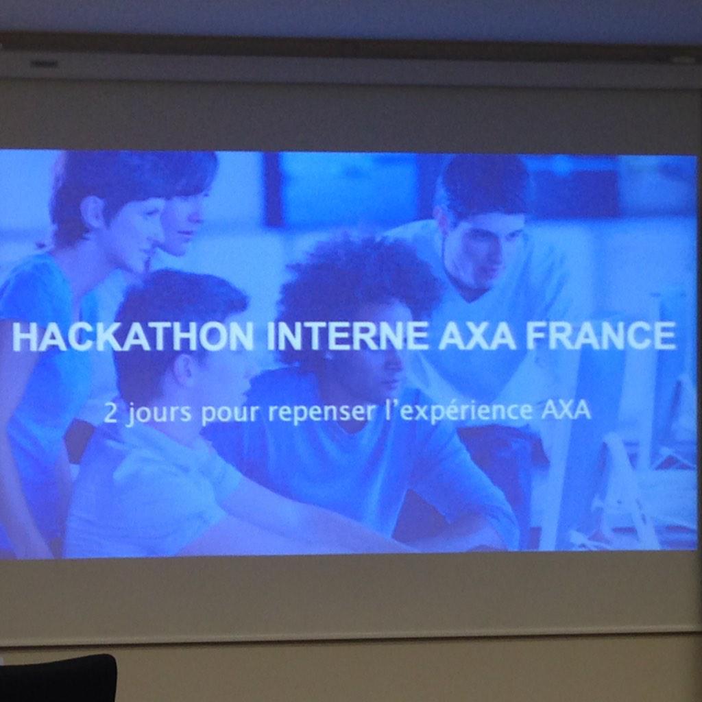 Hackathon Interne Axa France All Media
