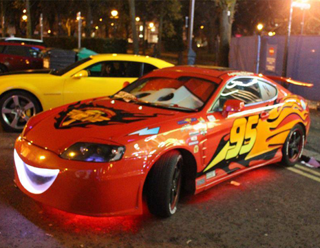 Extreme Consoles On Twitter Life Size Lightning Mcqueen
