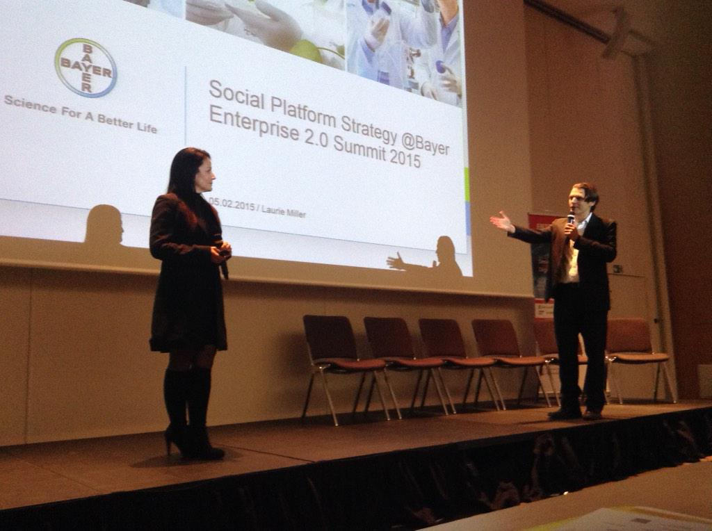 @bjoern_n introduces @laurmiller44 from #Bayer role model for people engagement #e20s http://t.co/4Xuc0FFHHe