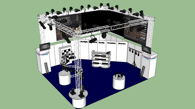 Exhibition Stand 3d Model Sketchup : Sketchup on twitter quot rt dwarehouse exhibition stand by