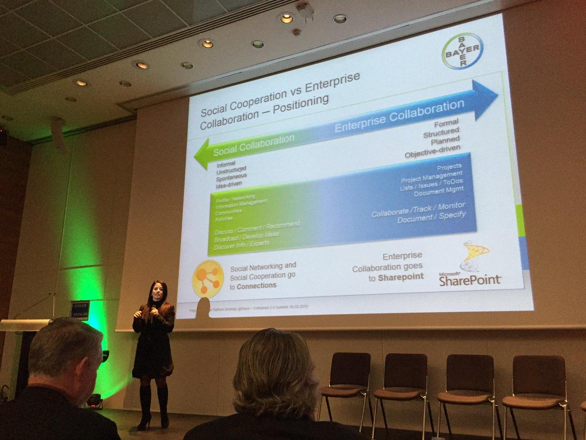 Separating social & enterprise collaboration? Does enterprise collaboration NOT require social collaboration? #e20s http://t.co/mgXxOekWAr