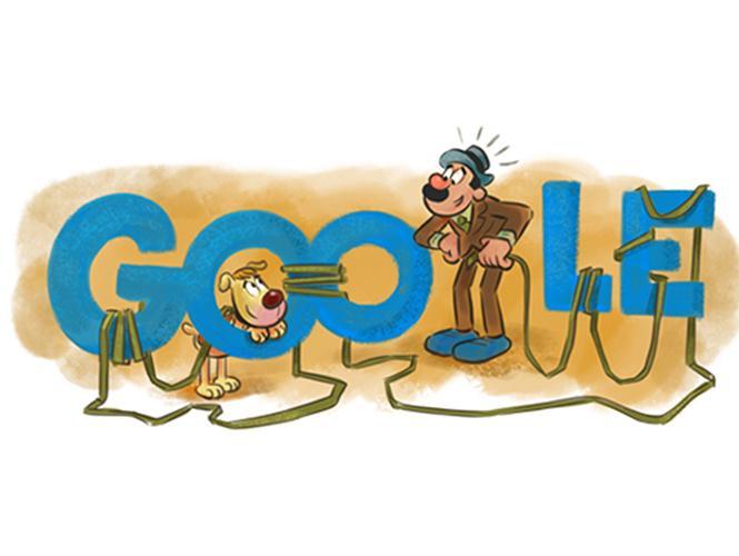 """""""@Excelsior: La Familia Burrón, del callejón del Cuajo, al Doodle de Google. http://t.co/E8GFSLWRsc http://t.co/6T76fofX7r"""""""