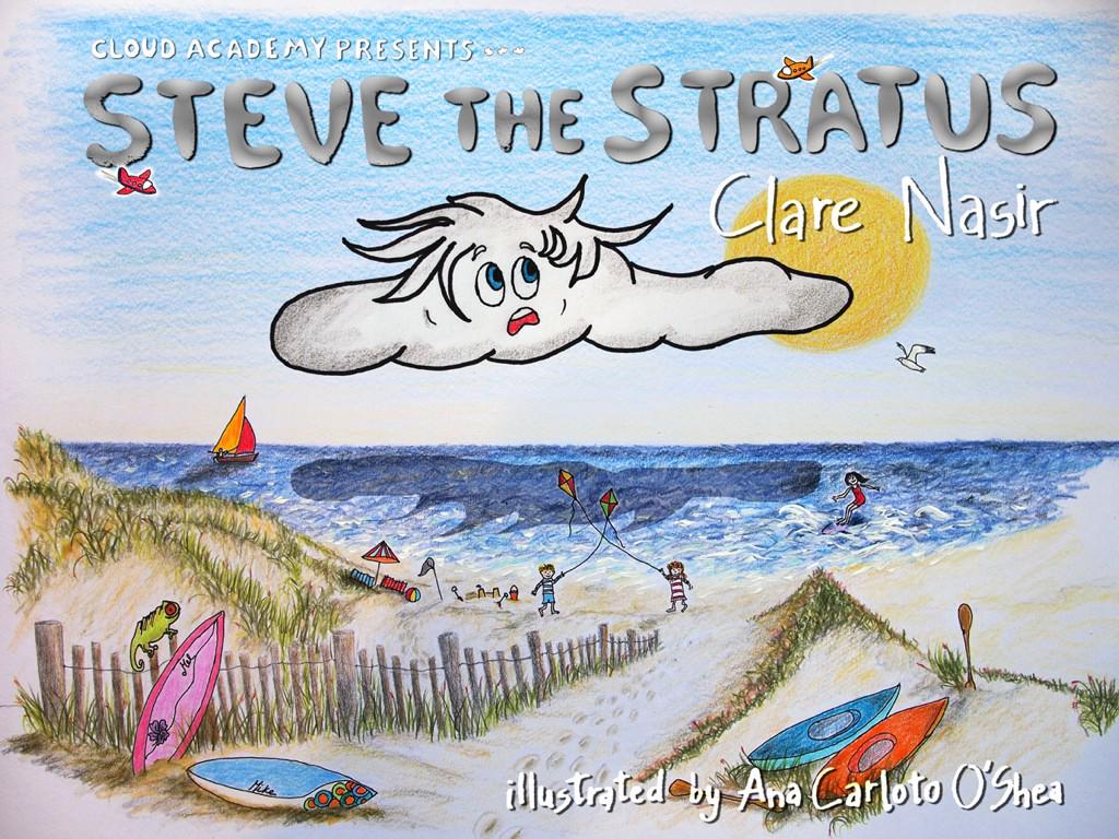 What a day! My latest book, Steve the Stratus, goes to print. Thank you to illustrator @carloto_shea @RudlingHouse http://t.co/vbN5WjIvf0